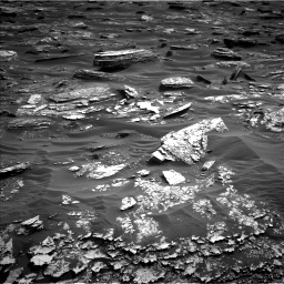 Nasa's Mars rover Curiosity acquired this image using its Left Navigation Camera on Sol 1698, at drive 898, site number 63