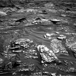 Nasa's Mars rover Curiosity acquired this image using its Left Navigation Camera on Sol 1698, at drive 970, site number 63