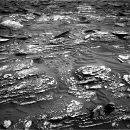 Nasa's Mars rover Curiosity acquired this image using its Left Navigation Camera on Sol 1698, at drive 982, site number 63