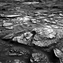 Nasa's Mars rover Curiosity acquired this image using its Left Navigation Camera on Sol 1698, at drive 1078, site number 63