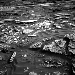 Nasa's Mars rover Curiosity acquired this image using its Left Navigation Camera on Sol 1698, at drive 1084, site number 63