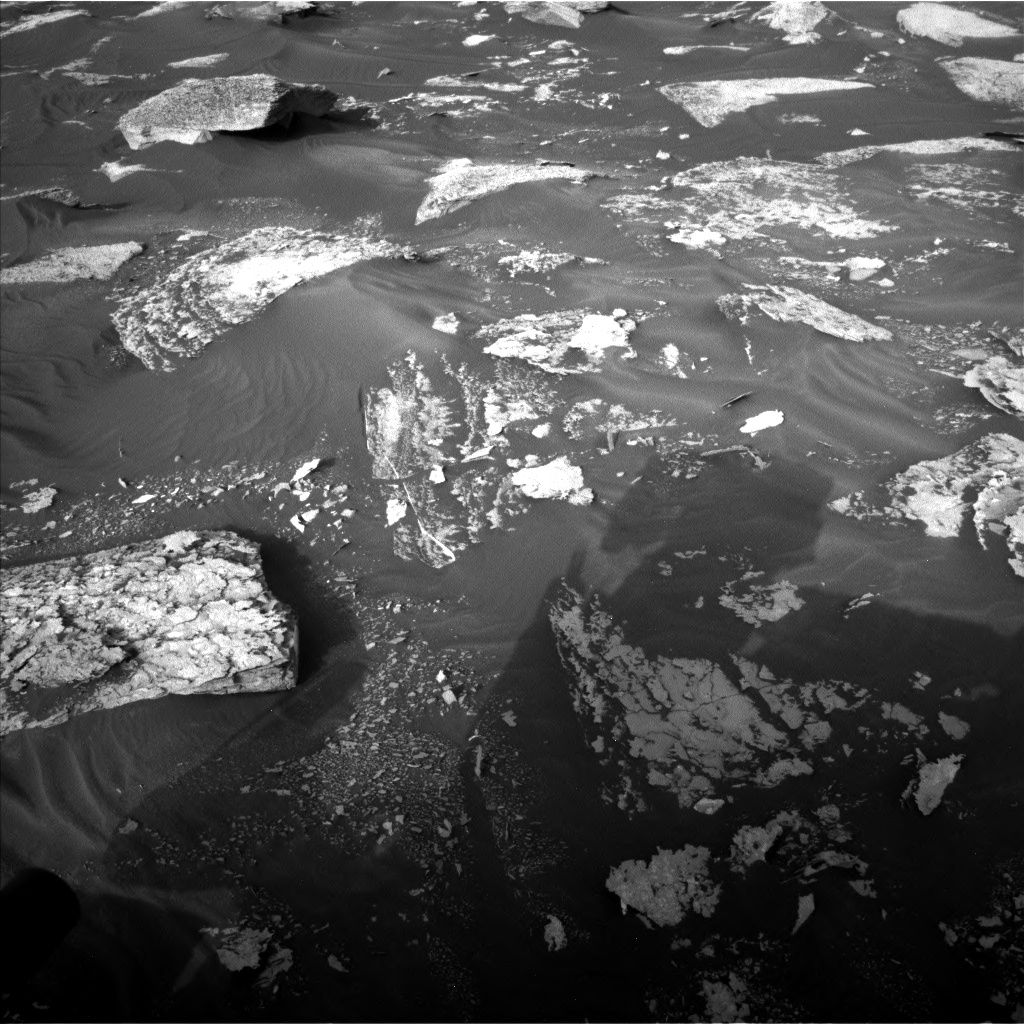 Nasa's Mars rover Curiosity acquired this image using its Left Navigation Camera on Sol 1698, at drive 1114, site number 63