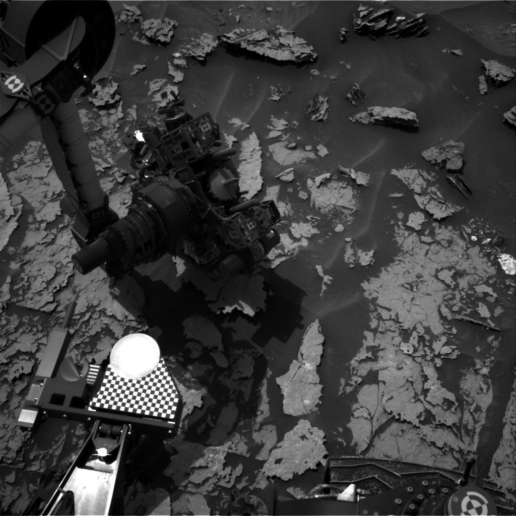 Nasa's Mars rover Curiosity acquired this image using its Right Navigation Camera on Sol 1698, at drive 766, site number 63