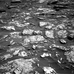 Nasa's Mars rover Curiosity acquired this image using its Right Navigation Camera on Sol 1698, at drive 784, site number 63