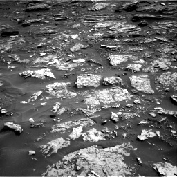 Nasa's Mars rover Curiosity acquired this image using its Right Navigation Camera on Sol 1698, at drive 790, site number 63