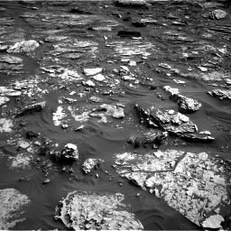Nasa's Mars rover Curiosity acquired this image using its Right Navigation Camera on Sol 1698, at drive 808, site number 63