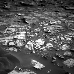 Nasa's Mars rover Curiosity acquired this image using its Right Navigation Camera on Sol 1698, at drive 832, site number 63