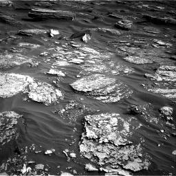 Nasa's Mars rover Curiosity acquired this image using its Right Navigation Camera on Sol 1698, at drive 850, site number 63