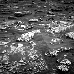 Nasa's Mars rover Curiosity acquired this image using its Right Navigation Camera on Sol 1698, at drive 892, site number 63
