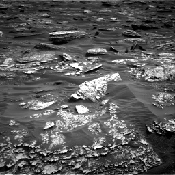 Nasa's Mars rover Curiosity acquired this image using its Right Navigation Camera on Sol 1698, at drive 898, site number 63