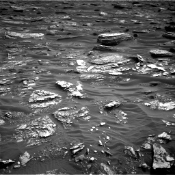 Nasa's Mars rover Curiosity acquired this image using its Right Navigation Camera on Sol 1698, at drive 910, site number 63