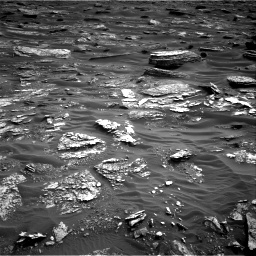 Nasa's Mars rover Curiosity acquired this image using its Right Navigation Camera on Sol 1698, at drive 916, site number 63