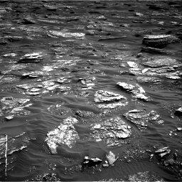 Nasa's Mars rover Curiosity acquired this image using its Right Navigation Camera on Sol 1698, at drive 922, site number 63
