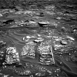 Nasa's Mars rover Curiosity acquired this image using its Right Navigation Camera on Sol 1698, at drive 958, site number 63
