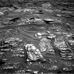 Nasa's Mars rover Curiosity acquired this image using its Right Navigation Camera on Sol 1698, at drive 970, site number 63