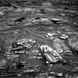 Nasa's Mars rover Curiosity acquired this image using its Right Navigation Camera on Sol 1698, at drive 976, site number 63
