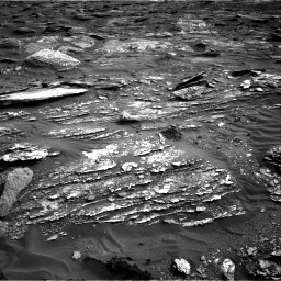 Nasa's Mars rover Curiosity acquired this image using its Right Navigation Camera on Sol 1698, at drive 994, site number 63