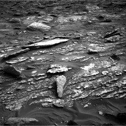 Nasa's Mars rover Curiosity acquired this image using its Right Navigation Camera on Sol 1698, at drive 1000, site number 63