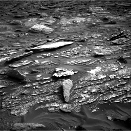 Nasa's Mars rover Curiosity acquired this image using its Right Navigation Camera on Sol 1698, at drive 1006, site number 63