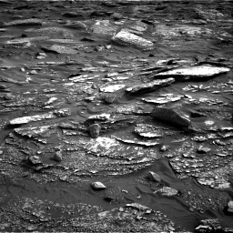 Nasa's Mars rover Curiosity acquired this image using its Right Navigation Camera on Sol 1698, at drive 1018, site number 63