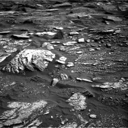 Nasa's Mars rover Curiosity acquired this image using its Right Navigation Camera on Sol 1698, at drive 1048, site number 63