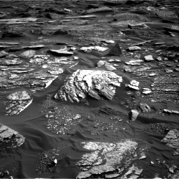 Nasa's Mars rover Curiosity acquired this image using its Right Navigation Camera on Sol 1698, at drive 1054, site number 63