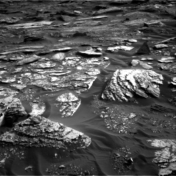 Nasa's Mars rover Curiosity acquired this image using its Right Navigation Camera on Sol 1698, at drive 1060, site number 63