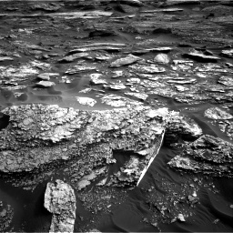 Nasa's Mars rover Curiosity acquired this image using its Right Navigation Camera on Sol 1698, at drive 1072, site number 63