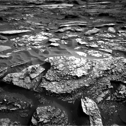 Nasa's Mars rover Curiosity acquired this image using its Right Navigation Camera on Sol 1698, at drive 1078, site number 63