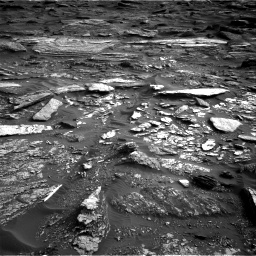 Nasa's Mars rover Curiosity acquired this image using its Right Navigation Camera on Sol 1698, at drive 1102, site number 63