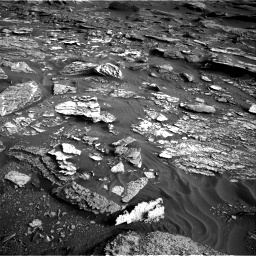 Nasa's Mars rover Curiosity acquired this image using its Right Navigation Camera on Sol 1698, at drive 1108, site number 63