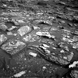 Nasa's Mars rover Curiosity acquired this image using its Right Navigation Camera on Sol 1698, at drive 1114, site number 63