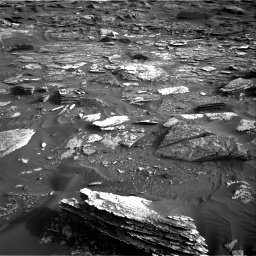 Nasa's Mars rover Curiosity acquired this image using its Right Navigation Camera on Sol 1698, at drive 1144, site number 63