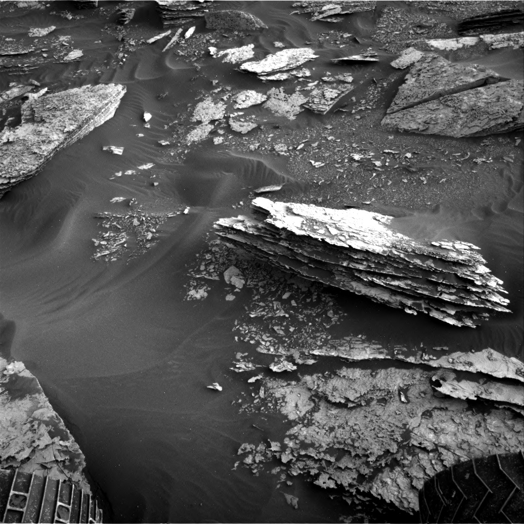 Nasa's Mars rover Curiosity acquired this image using its Right Navigation Camera on Sol 1698, at drive 1150, site number 63