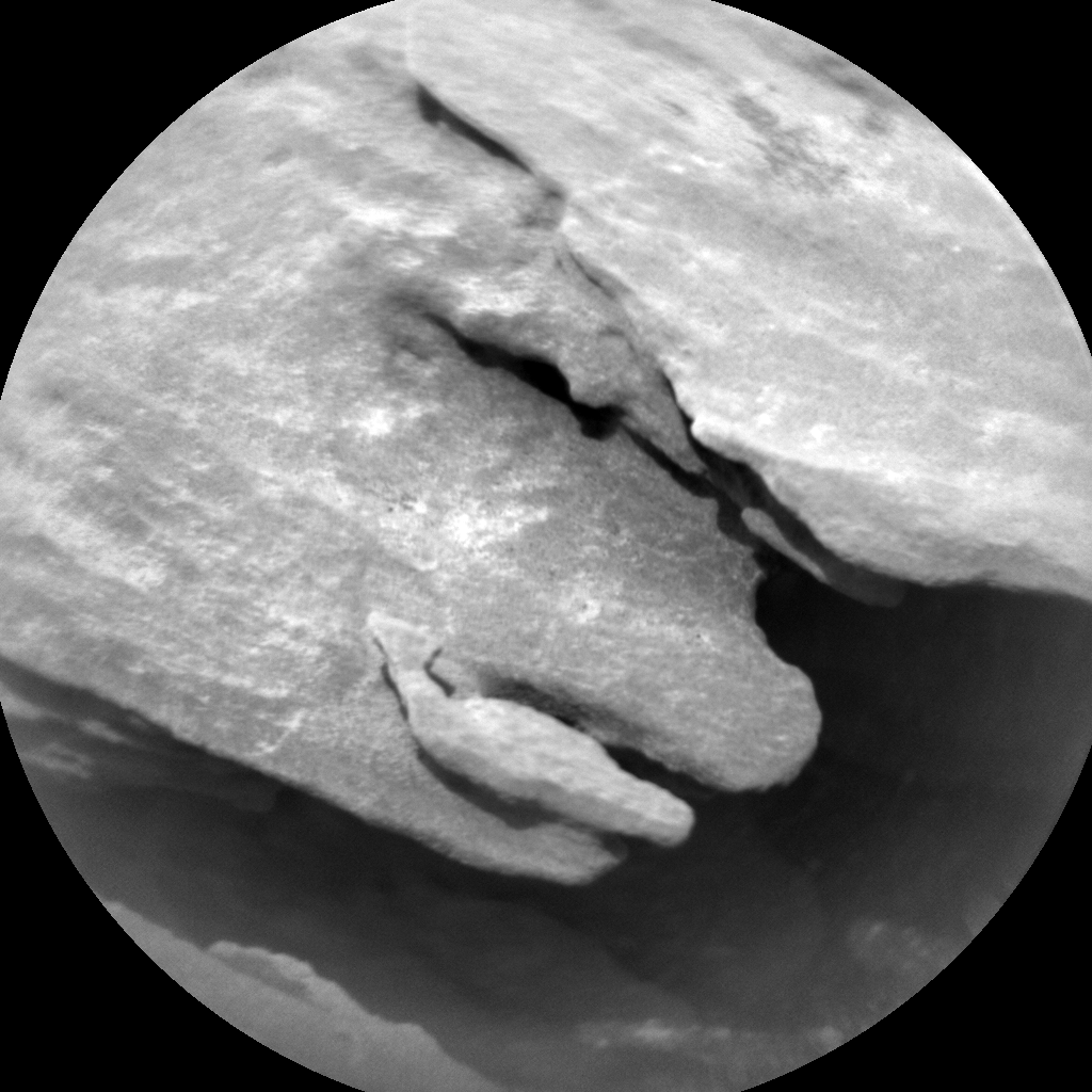 Nasa's Mars rover Curiosity acquired this image using its Chemistry & Camera (ChemCam) on Sol 1698, at drive 766, site number 63