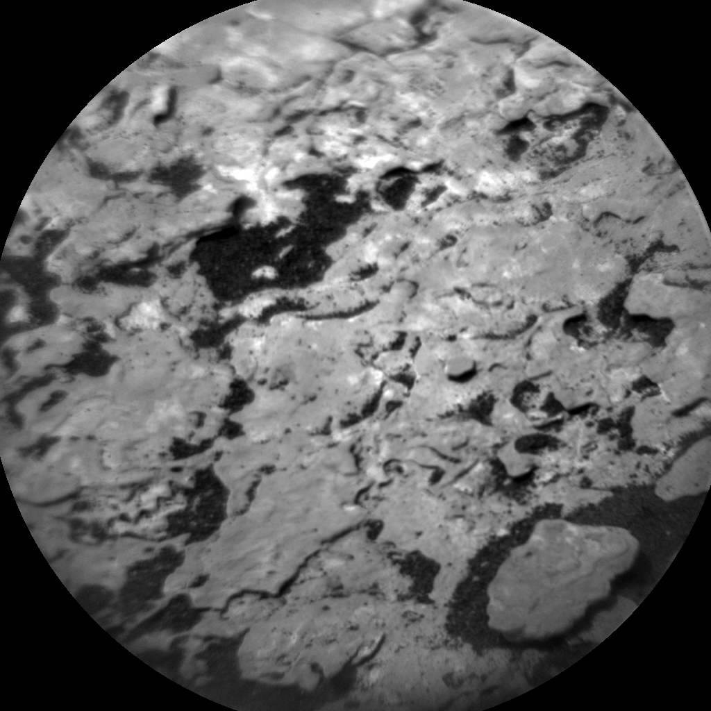 Nasa's Mars rover Curiosity acquired this image using its Chemistry & Camera (ChemCam) on Sol 1699, at drive 1150, site number 63
