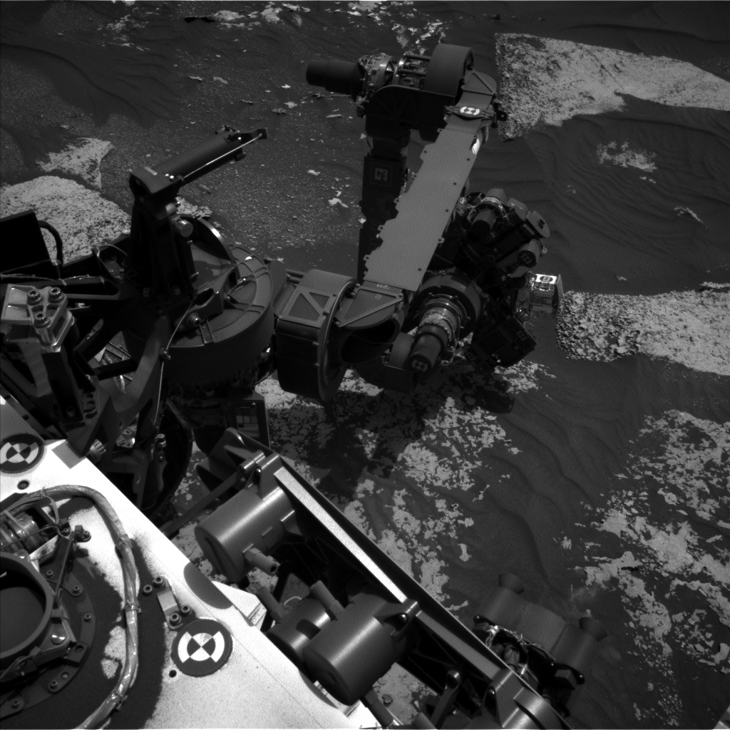 Nasa's Mars rover Curiosity acquired this image using its Left Navigation Camera on Sol 1700, at drive 1150, site number 63