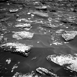 Nasa's Mars rover Curiosity acquired this image using its Left Navigation Camera on Sol 1700, at drive 1174, site number 63