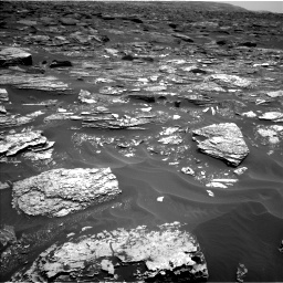 Nasa's Mars rover Curiosity acquired this image using its Left Navigation Camera on Sol 1700, at drive 1204, site number 63
