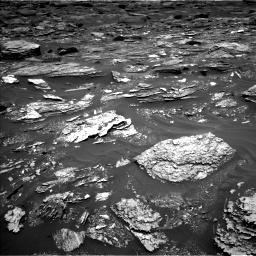 Nasa's Mars rover Curiosity acquired this image using its Left Navigation Camera on Sol 1700, at drive 1222, site number 63