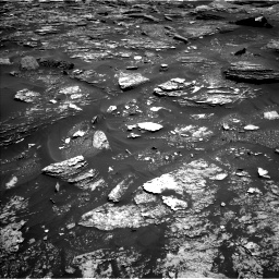 Nasa's Mars rover Curiosity acquired this image using its Left Navigation Camera on Sol 1700, at drive 1354, site number 63