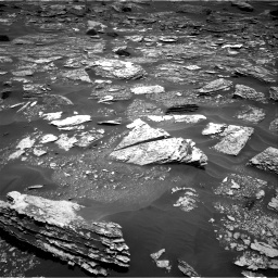 Nasa's Mars rover Curiosity acquired this image using its Right Navigation Camera on Sol 1700, at drive 1156, site number 63