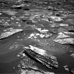 Nasa's Mars rover Curiosity acquired this image using its Right Navigation Camera on Sol 1700, at drive 1162, site number 63