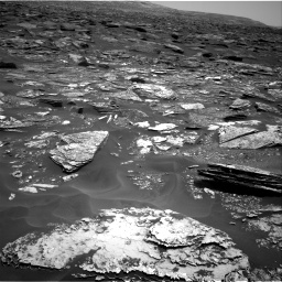Nasa's Mars rover Curiosity acquired this image using its Right Navigation Camera on Sol 1700, at drive 1192, site number 63