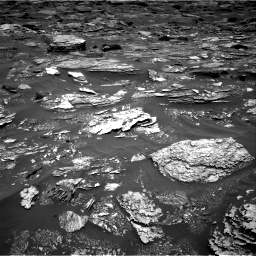 Nasa's Mars rover Curiosity acquired this image using its Right Navigation Camera on Sol 1700, at drive 1216, site number 63