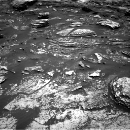 Nasa's Mars rover Curiosity acquired this image using its Right Navigation Camera on Sol 1700, at drive 1258, site number 63