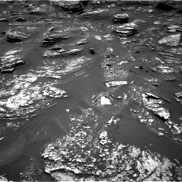 Nasa's Mars rover Curiosity acquired this image using its Right Navigation Camera on Sol 1700, at drive 1276, site number 63