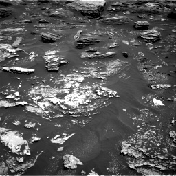 Nasa's Mars rover Curiosity acquired this image using its Right Navigation Camera on Sol 1700, at drive 1282, site number 63