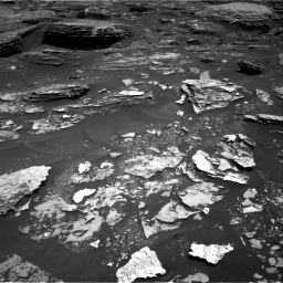 Nasa's Mars rover Curiosity acquired this image using its Right Navigation Camera on Sol 1700, at drive 1300, site number 63