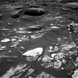 Nasa's Mars rover Curiosity acquired this image using its Right Navigation Camera on Sol 1700, at drive 1306, site number 63